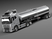 3d model 2013 2015 truck semi