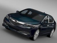 3d honda legend hybrid 2015 model