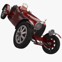 bugatti type 35 1925 3d max