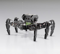3d kmr-6 hexapod robot kondo