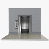 lift interior 3d x