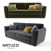 max natuzzi armando sofa