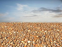 Sand with stones 50