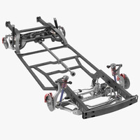 sedan chassis drivetrain 2 3ds