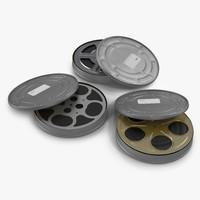 3dsmax video film reels 3