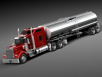 Kenworth W900 Sleeper Cab Tanker 2014