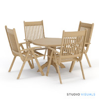 Outdoor Seating SV Andaluza Seating Set 01