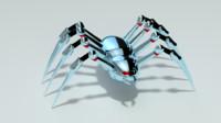 spider bot obj