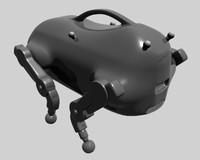 darpa robot ugv 3d model