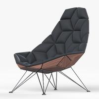 tiles chair jsn 3d model