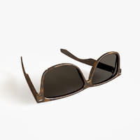 sun glasses 3d max