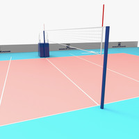 maya volleyball court