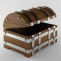 chest modelled 3d max