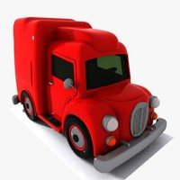 max cartoon truck toon