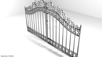 Steel Door Gate Type 3