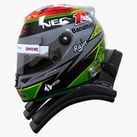 max racing helmet sergio perez