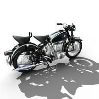 motorcicle BMW R50 1958