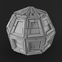 3d model mysterious object assets