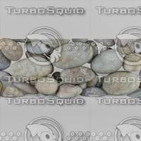 sea stones 3d max