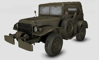 maya willys army jeep