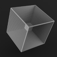 geometric modelled 3d max
