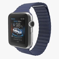 apple watch 38mm magnetic 3d model