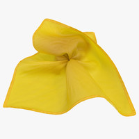 3d 3ds football penalty flag yellow