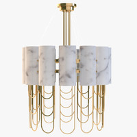 3d niagara suspension lamp