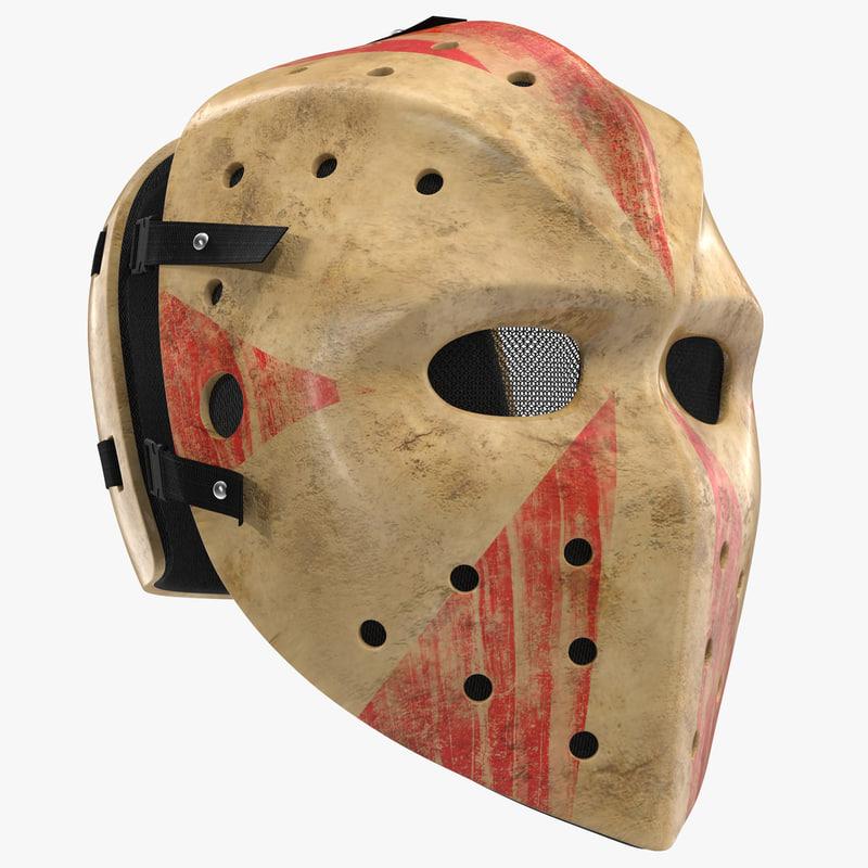 Hockey Mask 3ds model 00.jpg