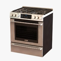 gas range control freestanding max
