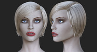 3d model realistic supermodel body nadja