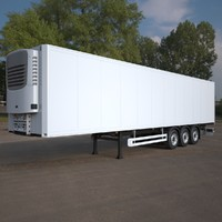 refrigerated semi trailer max