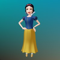snow white 3d ma