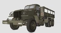 US Army Truck GMC CCKW LWB 353 -D