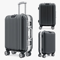 3ds max bag luggage travel kingtrip