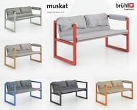 3ds max muskat sofa