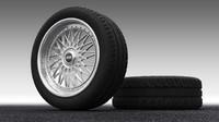 classic wheel obj