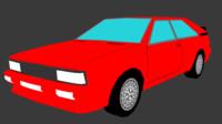 3ds quattro classic sports car