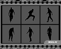 Walk animations