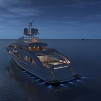 yacht galactica star 3d model