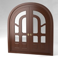 door interior exterior 3d model