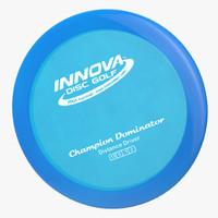 frisbee innova dominator distancedriver c4d