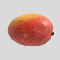 3d mango fruit model