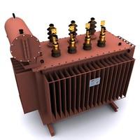 generator oil 3d model