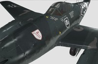3d german fighter model
