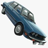 bmw 535i e28 1985 3d model