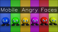 mobile expressions angry 3d model