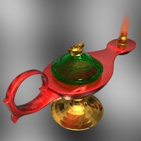 3ds max aladdin magic lamp