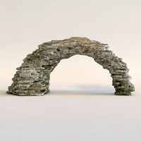stone arch 3d max