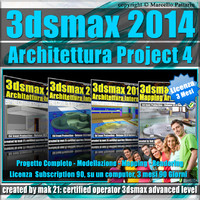 3ds max 2014 Architettura Project 4 Subscription 3 Mesi